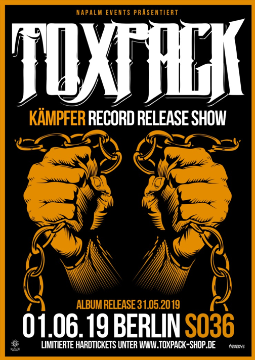 TOXPACK To Release New Album