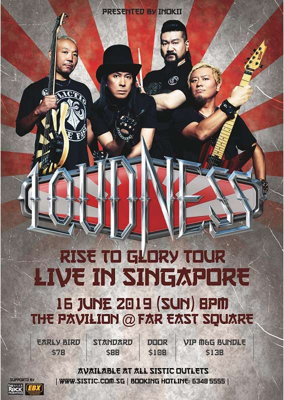 Loudness Fan Filmed Videos From The Pavilion At Far East