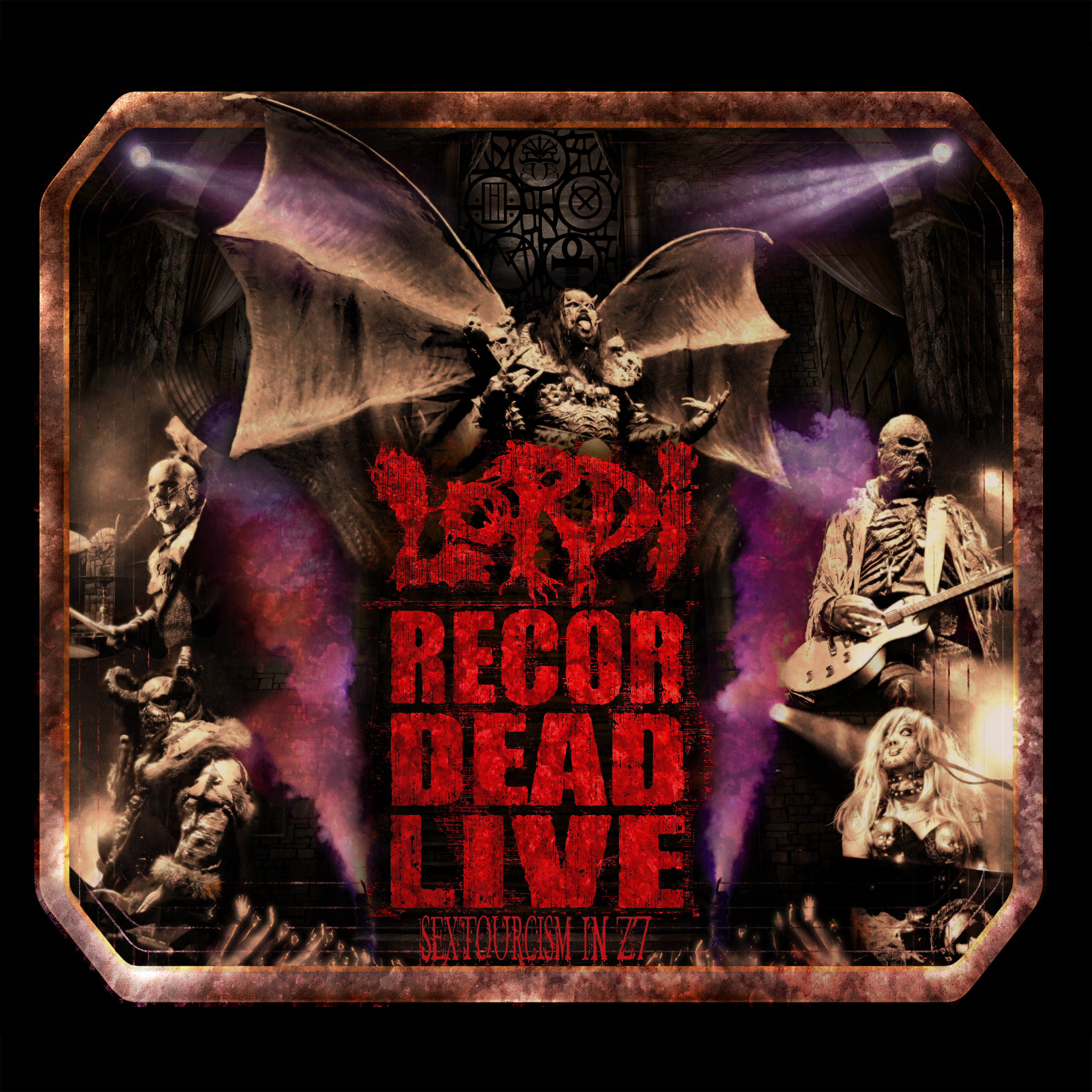Lordi - Recordead Live - Sextourcism In Z7 (2019